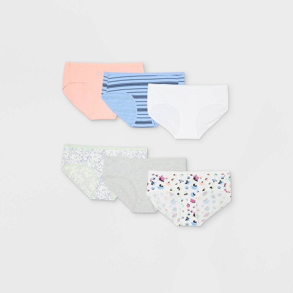 Women 39 S 6pk Cotton Hipster Underwear Auden 8482 Assorted L