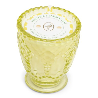 7oz Glass Jar Candle Pineapple & Bamboo Leaf - Fruit Collection - Opalhouse™