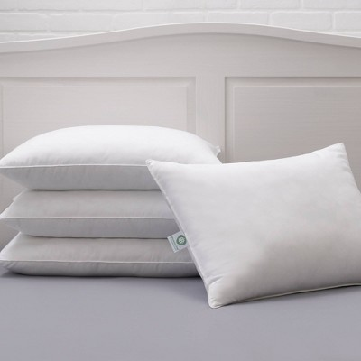 Queen 4pk Hypoallergenic Allergen Barrier Bed Pillow - Allied Home