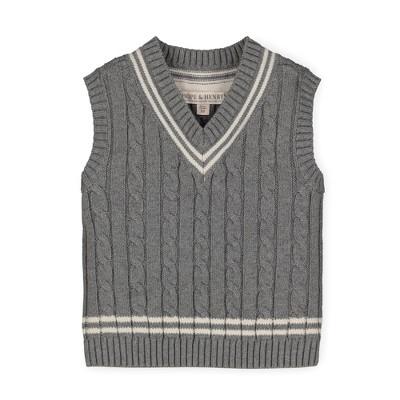 Hope & Henry Boys' V-Neck Cricket Sweater Vest, Kids
