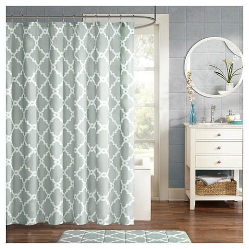 Becker Geometric Printed Shower Curtain Target
