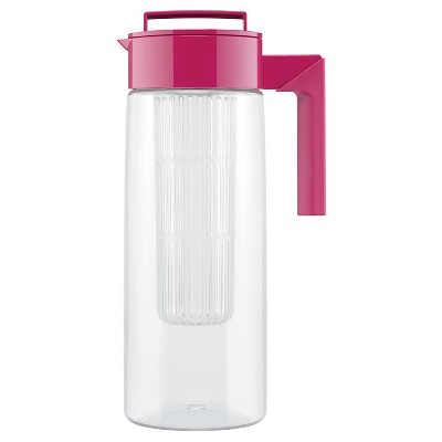 Takeya 2qt Flavor Infusion Pitcher - Red