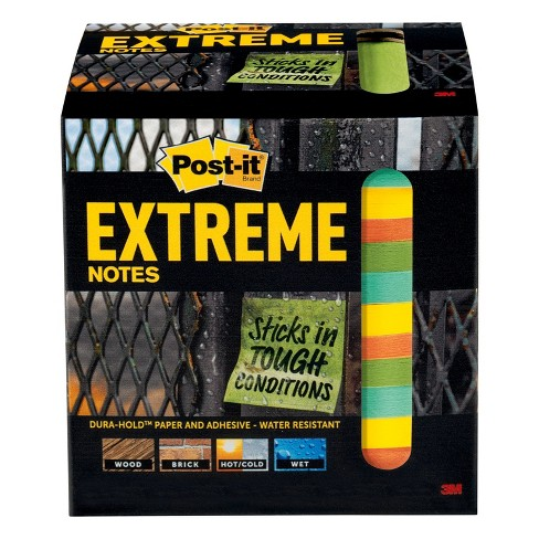 "Post-it 12ct Extreme Notes 3"" x 3"" - image 1 of 8"