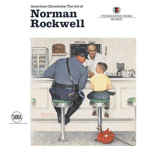 American Chronicles: The Art of Norman Rockwell - (Hardcover) - image 1 of 1