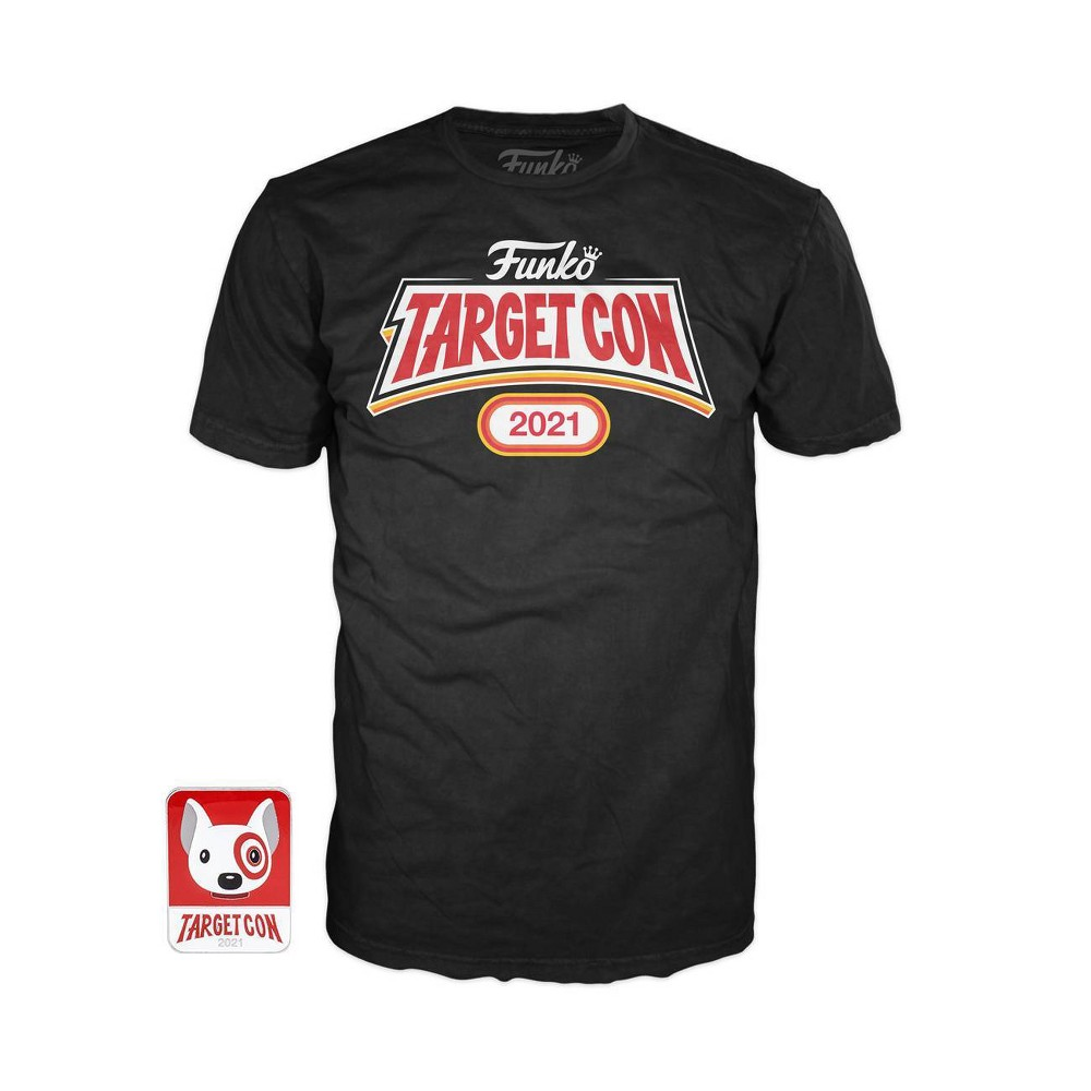 Funko Targetcon 2021 Tee 38 Pin Set L Target Exclusive