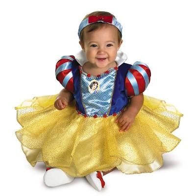 Baby Snow White & the Seven Dwarfs Snow White Halloween Costume with Headband