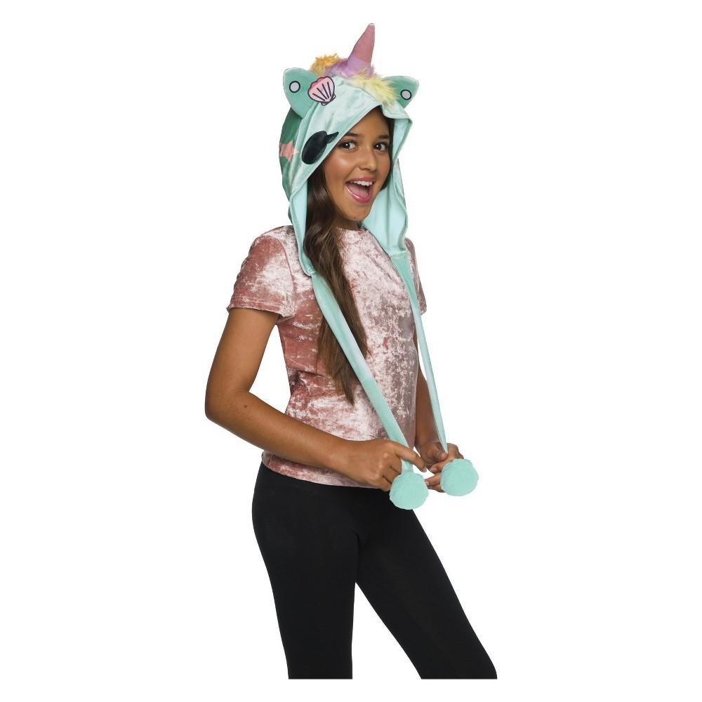 Girls' Tokidoki Sirena Unicorno Costume Hood, Multi-Colored