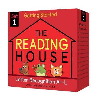 The Reading House Set 1: Letter Recognition A-L - by Marla Conn (Mixed Media Product)