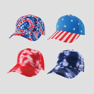 4ct 4th of July Hats - Bullseye's Playground™