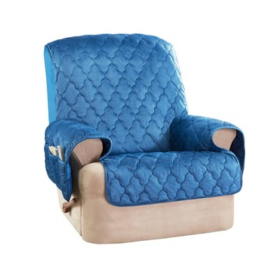 Mink Microfiber Recliner Furniture Protector - Sure Fit