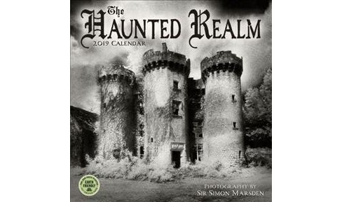 Haunted Realm 2019 Calendar -  (Paperback) - image 1 of 1