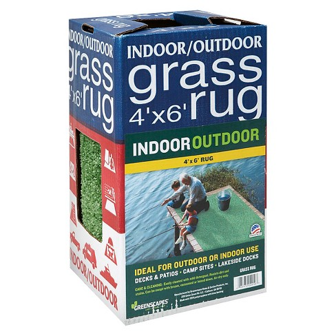 Greenscapes 4x6' Grass Rug - image 1 of 1