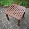 Sopra Wood Patio Side Table - Cambridge Casual - image 3 of 4