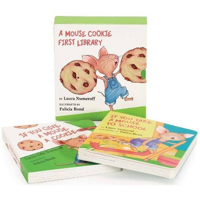 A Mouse Cookie First Library - (If You Give...)by Laura Joffe Numeroff (Board Book)