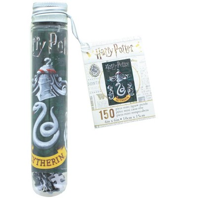NMR Distribution Harry Potter House Slytherin 150 Piece Micro Jigsaw Puzzle In Tube