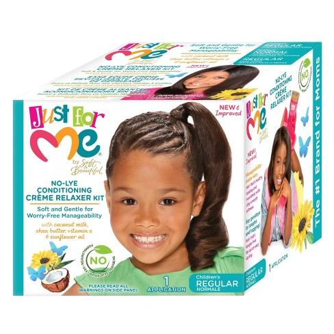 Just For Me No-Lye Conditioning Crème Relaxer Kit - image 1 of 3