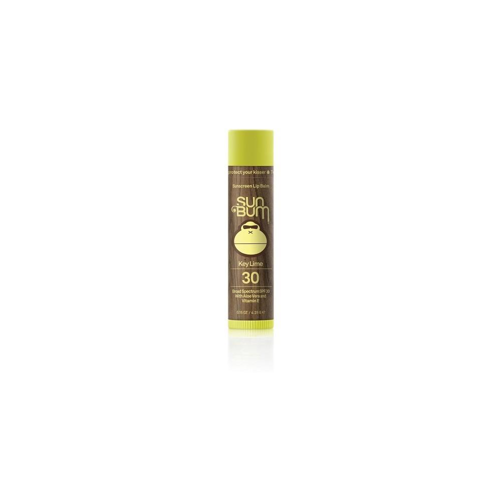 Image of Sun Bum Key Lime Lip Balm - SPF 30 - 0.15oz
