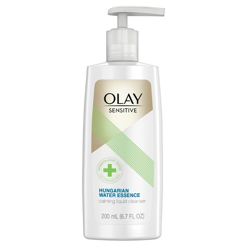 Olay Sensitive Hungarian Water Essence Calming Liquid Cleanser - 6.7 fl oz - image 1 of 4