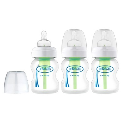 Dr. Brown's Options™ Wide Neck bottle 3 pack 5oz