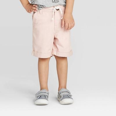 Toddler Boys' Dressy Chino Shorts - Cat & Jack™ Pink 18M