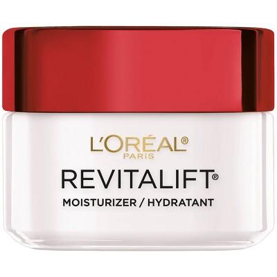 Facial Moisturizer: L'Oreal Paris Revitalift Anti-Wrinkle + Firming Face & Neck Moisturizer