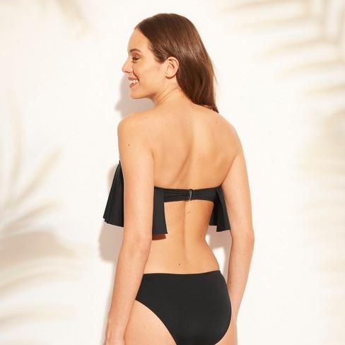 1698fb4276857 Women s Flounce Bandeau Bikini Top - Kona Sol™   Target