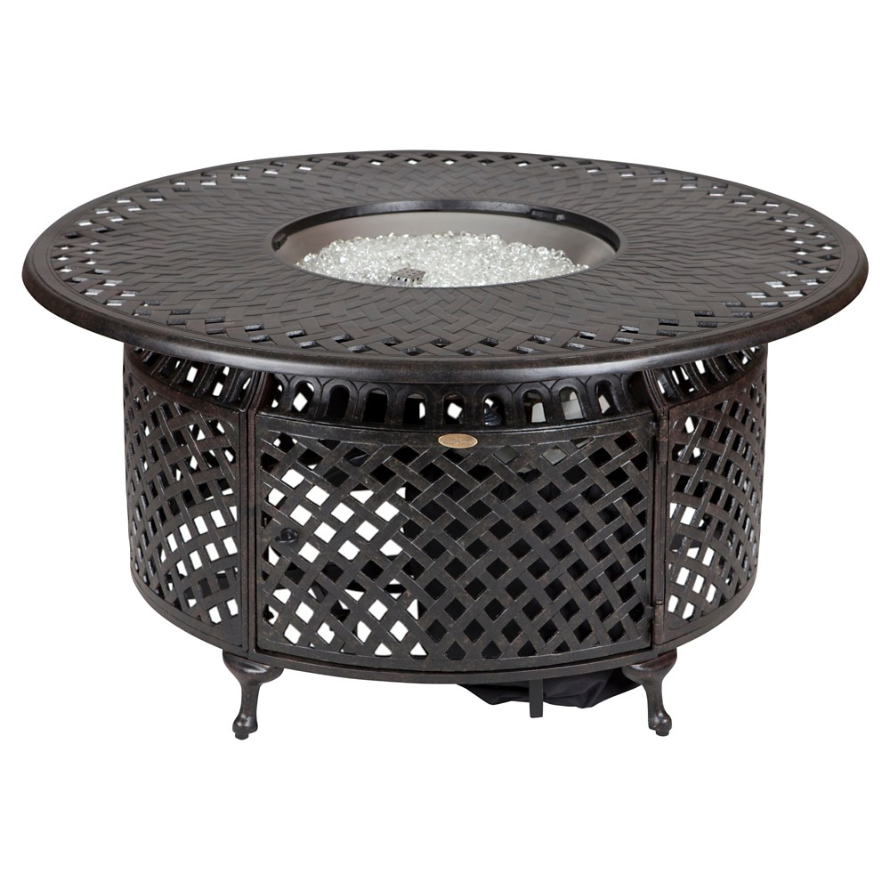 Image of Fire Pit Fire Sense - Brown