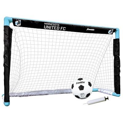 MLS Minnesota United FC Size 1 Mini Soccer Goal Set