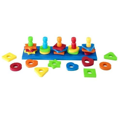 Lauri Shape and Color Sorter, 31 pc - image 1 of 3