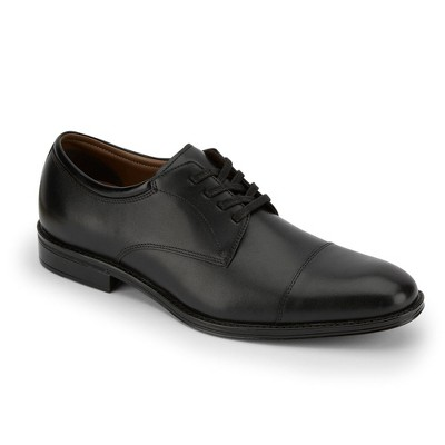 Dockers Mens Pierdon Leather Dress Cap Toe Oxford Shoe