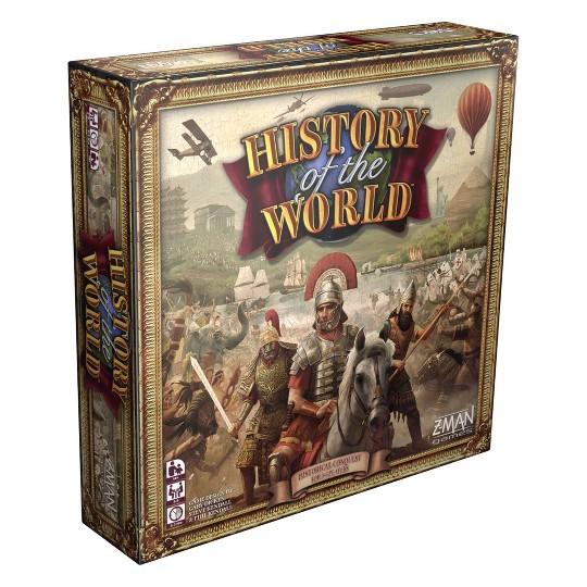 Zman Games History of the World Board Game image number null