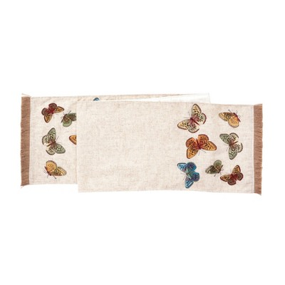 """C&F Home 13"""" x 72"""" Butterfly Table Runner"""