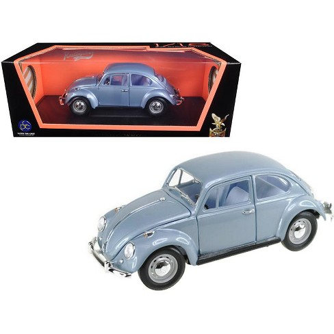 1967 Volkswagen Beetle Light Blue 1/18 Diecast Model Car by Road Signature - image 1 of 1