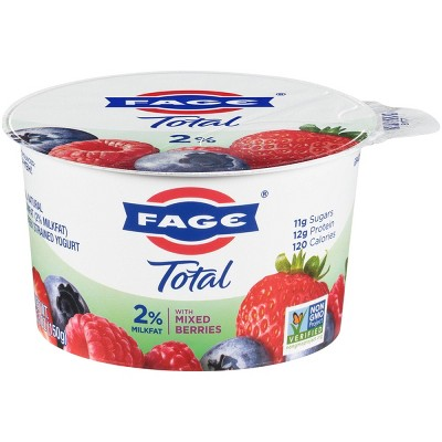 FAGE Total 2% Milkfat Mixed Berry Greek Yogurt - 5.3oz