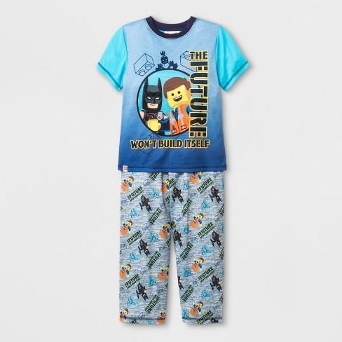 9aef82c94f Boys  LEGO Movie 2 2pc Pajama Set - Gray   Target
