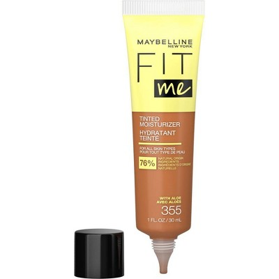 Maybelline Fit Me Tinted Moisturizer Natural Coverage Face Makeup - 1 fl oz