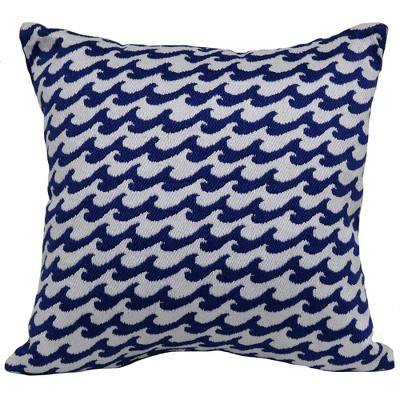 Outdoor Throw Pillow Square - Woven Waves - Threshold™