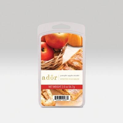 2oz 6pc Wax Melts Pumpkin Apple Strudel - Ador