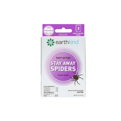 EarthKind Stay Away Spider Repellant - 2pk
