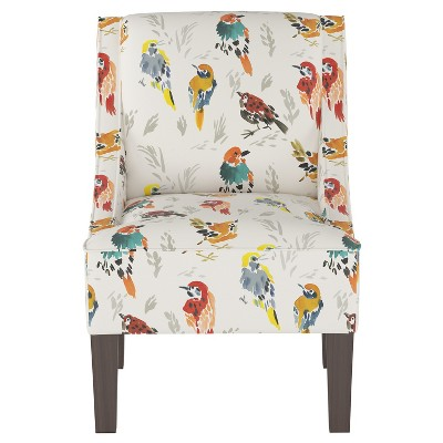Hudson Swoop Armchair Multi Bird Print - Threshold™