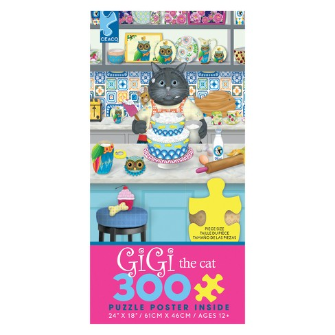 Ceaco 300Pc Gigi The Baker Jigsaw Puzzle - image 1 of 1