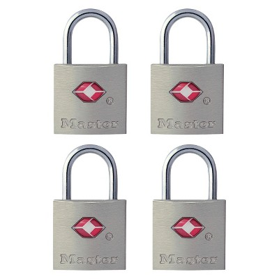 Master Lock 4pk 22mm Key Lock
