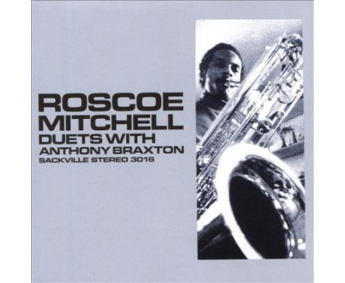 Roscoe Mitchell - Duets With Anthony Braxton (CD) - image 1 of 1