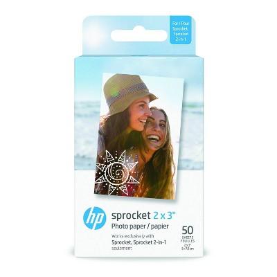 HP Zink Paper 2x3 50 Pack