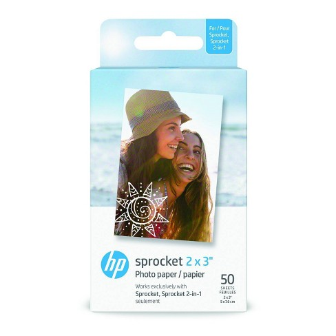 HP Zink Paper 2x3 50 Pack - image 1 of 3