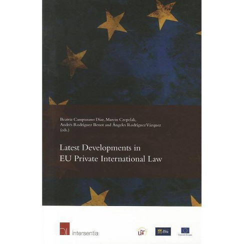 Latest Developments in Eu Private International Law - (Paperback) - image 1 of 1