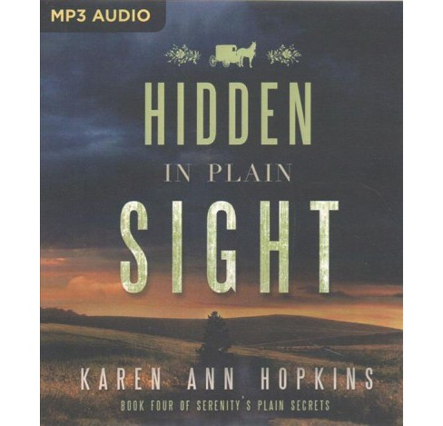 Hidden in Plain Sight (MP3-CD) (Karen Ann Hopkins) - image 1 of 1