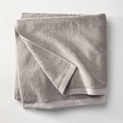 Organic Bath Towel Gray - Casaluna™