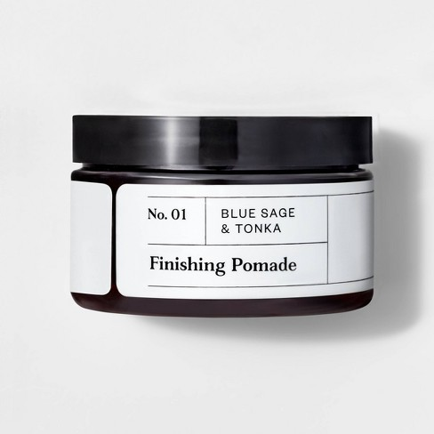 No. 01 Blue Sage & Tonka Finishing Pomade - 4oz - Goodfellow & Co™ - image 1 of 1