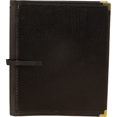 Deer River Deluxe Black Choral Folio with Hand Strap Black